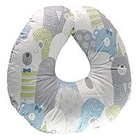 extra-soft *喂养婴儿 SUPPORT 枕头带*** 防*竹覆盖 | *新生儿婴幼儿喂养靠垫 | 轻质 | 哺乳枕男女生 Lovely Bear Pillow