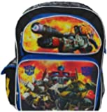"Transformers 16"" Large School Backpack Boy Backpack NEW!"