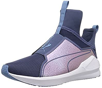PUMA Fierce ClrShift 儿童运动鞋 蓝色靛蓝诱惑 5.5 M US 儿童