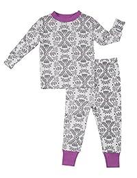 Robeez 女婴 2 件套棉质莫代尔睡衣