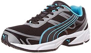 Puma Men's CARLOS Ind. Black Mesh Running Shoes