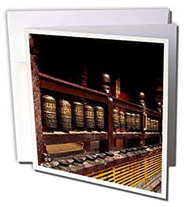 Danita Delimont - Temples - 尼泊尔加德满都的佛教祈祷轮 - 贺卡 Set of 12 Greeting Cards