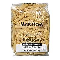 Mantova Penne Rigate Bronz Die Pasta, 1 Pound