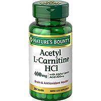 Nature'sBounty®左旋肉碱 400 mg 30 30