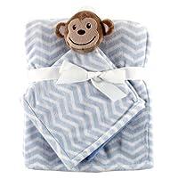 Hudson宝宝毛绒安全毯套件 小猴 均码