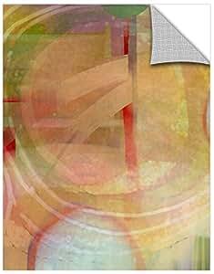 """Delores Orridge Naskrent """"月亮崛起""""画廊包装油画,14X18"""