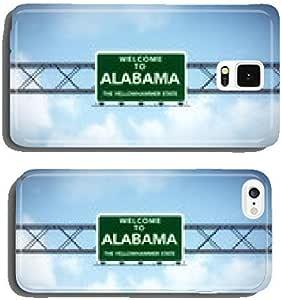 阿拉巴马美国州欢迎光临公路标志手机壳 iPhone5