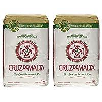 YERBA MATE CRUZ de MALTA 2.2lb 1 kilo * 2片裝