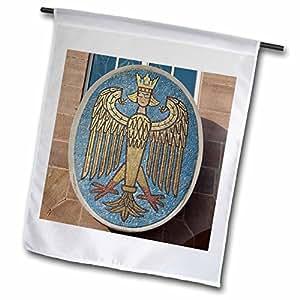 danita delimont–德国–德国, bavaria , nuremberg 市场 SQUARE–eu10cmi0535–cindy Miller Hopkins–旗帜 12 x 18 inch Garden Flag