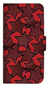 mitas iphone 手机壳86SC-0083-RB/SH-M04 4_AQUOS (SH-M04) 红黑色