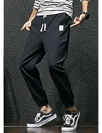 Aboselon 艾伯森朗 男士九分裤休闲裤 青少年宽松哈伦裤 收脚小脚裤 XJK23
