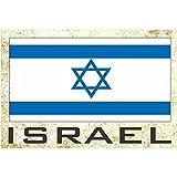 国旗冰箱冰箱冰箱磁铁 - 欧洲 Country: Israel