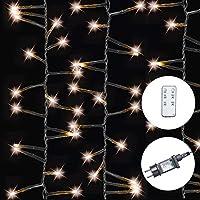 AMARE LED 灯链,暖白色,适用于室内室外,不同规格 暖白 Lichterkette 400 LEDs - 6,7 m Länge 9700-1000-02