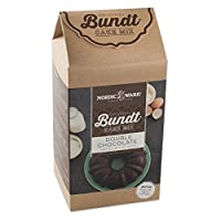 Nordic Ware Double Chocolate Bundt Cake Mix, Brown