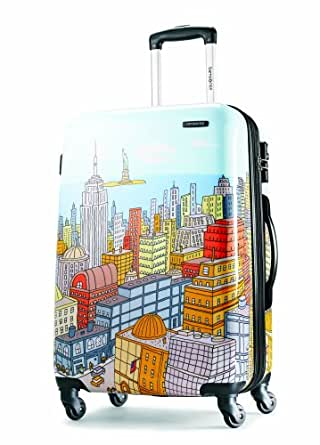 Samsonite Luggage NYC Cityscapes Spinner 28 蓝色印花 均码