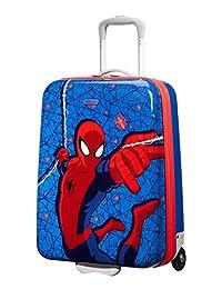American Tourister 新奇迹 - 硬质直立 55/20 Marvel 2.5 KG 儿童行李箱,55 厘米,32.5 升,多色(蜘蛛侠网)