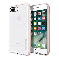 iPhone 7 Plus Case, Incipio Reprive Lux Protective Cover fits Apple iPhone 7 Plus - Clear/Iridescent Rose Gold/Blush Pink