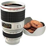 KJB Security Camera Lens Cup 白色 6.4 Ounce