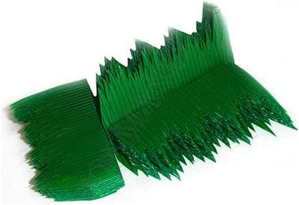 JapanBargain 塑料寿司托盘 绿色 Sushi Grass 2052