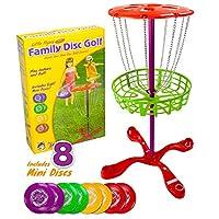 K-Roo Sports SOUT-301 Little Flyers 家庭飞盘高尔夫 8 个迷你圆盘