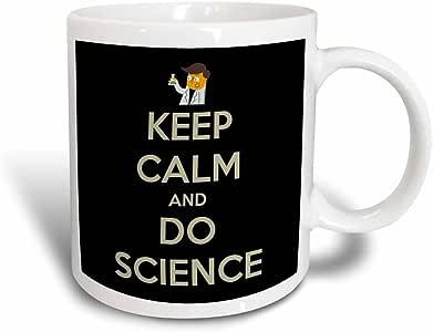3dRose Keep Calm and Do Science, Science Teacher, Professor, Magic Transforming Mug, 11-Oz