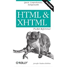 HTML and XHTML Pocket Reference (Pocket Reference (O'Reilly)) (English Edition)