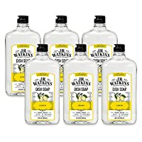J.R. Watkins Liquid Dish Soap, 24 Ounce (Pack of 6)
