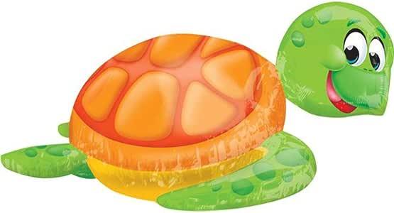 "Smiling Sea Turtle 31"" Mylar Balloon"