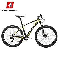 MARMOT土拨鼠自行车山地车男女式成人单车30速碳纤维山地自行车