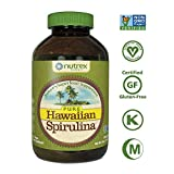 Pure Hawaiian Spirulina Powder 16 oz – Boosts Energy and Supports Immunity – Vegan, Non GMO – Natural Superfood Grown in Hawaii