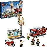 LEGO 乐高 拼插类玩具 LEGO City 城市组系列 汉堡店消防救援 60214 5岁+ 积木玩具
