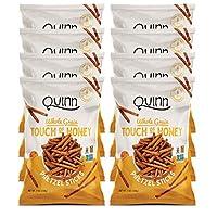 Quinn Snacks 无麸质椒盐脆饼,蜂蜜,约198克(8包)