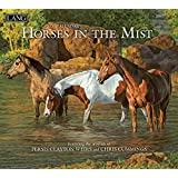 Lang Horses in The Mist 2020 挂历 (20991001917)