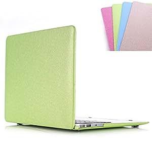 苹果 Macbook 奢华皮革手机壳,上下手机壳带丝绸图案4320588 Air 13 inch