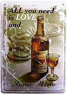 UNiQ Designs 男士洞穴车库主题 Uniq Designs All You Need is Love and Some Wine