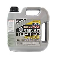 Liqui Moly 力魔 顶技4100合成润滑油 5W-40 SN/CF 4L (德国)