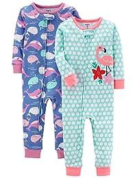 Carter ' s 女婴2件装棉质睡衣