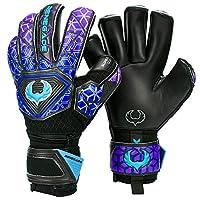 Renegade GK Vortex 足球守门员手套(3 级 - 匹配) - 尺码 6-11,4 种款式/切片 - 30 天 * 保修 - 男女通用、成人、儿童守门员