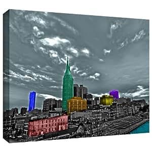 ArtWall Revolver Ocelot 'Nashville' Gallery-Wrapped Canvas Artwork, 12 by 18-Inch
