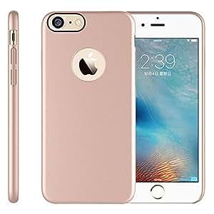 iPhone 7手机壳, REMEX 超薄豪华 PC 带防刮伤防滑手机壳适用于苹果 iPhone 7 Rose Gold