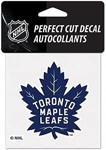 WinCraft NHL 多伦多枫叶标志 10.16 x 10.16 cm 户外颜色贴花