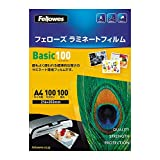 Fellows laminate film A4 size 100 microns to 100 sheets -海外卖家直邮