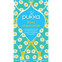 Pukka 三种洋甘菊,草本茶饮(4件,80包茶包)