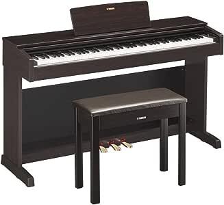 YAMAHA 雅马哈 ARIUS系列YDP-143R电钢琴88键数码钢琴(含配套琴架 三踏板及琴凳) 深玫瑰木色