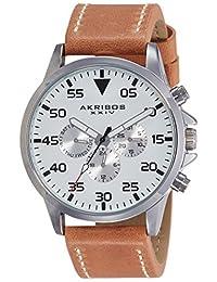 Akribos XXIV 美国品牌  石英男士手表 AK773SSBR(亚马逊进口直采)