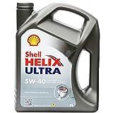 Shell壳牌HelixUltra超凡喜力全合成润滑油5W-404升装(德国原装进口)(部分地区已开通线下安装及保养服务!仅限亚马逊自营商品)(新老包装随机发放)