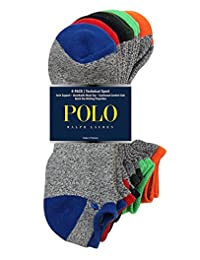 Polo Ralph Lauren 6 双装高科技运动袜 灰色多色 One Size