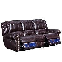 芝华仕 头等舱沙发 美式沙发防污科技布 电动可躺沙发功能沙发5529 三人位(标价仅为商品价格,如需运送/安装,请咨询客服具体费用。咨询电话:400-688-9099 QQ:648538692/3478725759)(亚马逊自营商品, 由供应商配送)