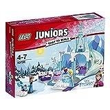 LEGO 乐高 Juniors 小拼砌师系列 安娜和艾莎的冰雪乐园 10736 4-7岁 积木玩具