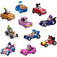 Fisher-Price Disney Mickey & the Roadster 赛车,热杆汽车,10 个装